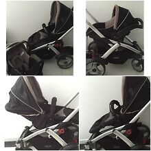 Steelcraft Stroller & Car Capsule Travel System Southport Gold Coast City Preview