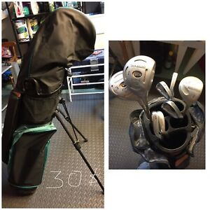Sac & bâtons de golf / Golf bag & clubs