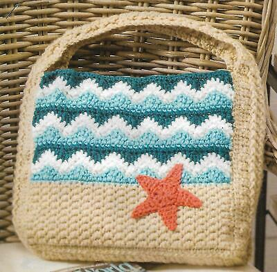 Seaside Tote Bag crochet PATTERN (Tote Bag Crochet Pattern)