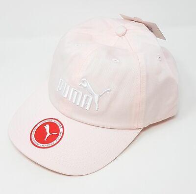 Damen Mütze (Puma Damen Cap Mütze Basecap Logo Rosa Verstellbar Klettverschluss One Size)
