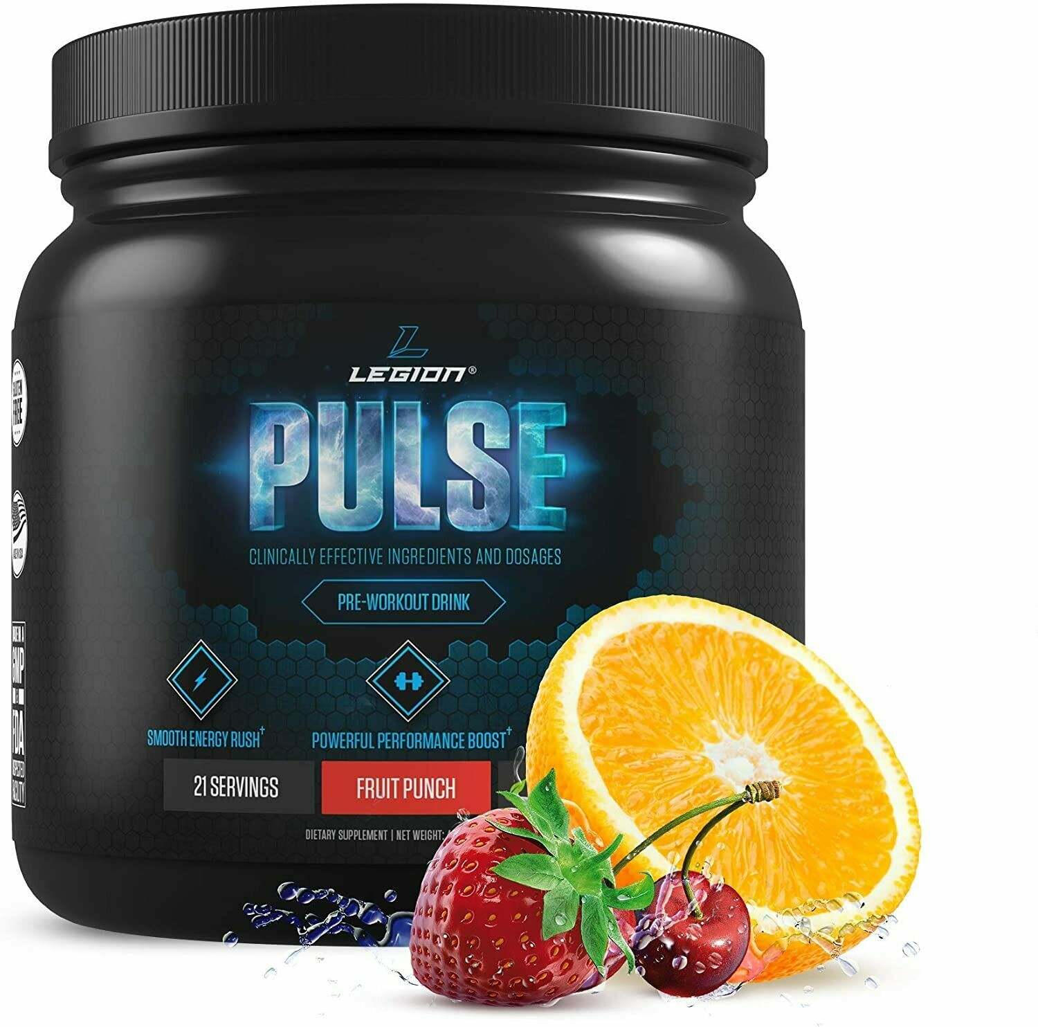 Legion Athletics Naturally Sweetened Pulse Pre-Workout , Fru