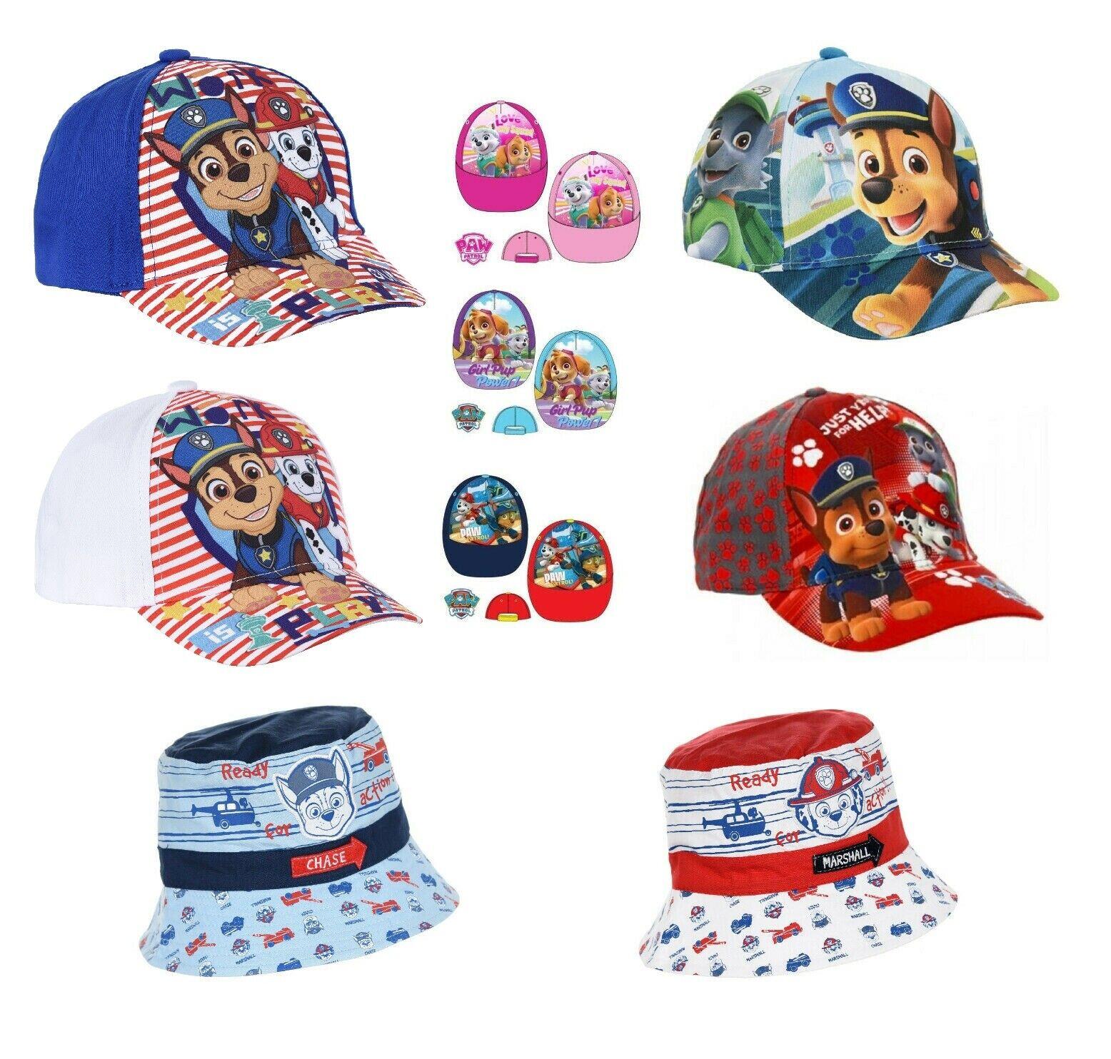 Kids Boys Girls Official Paw Patrol Baseball Caps Summer Hat