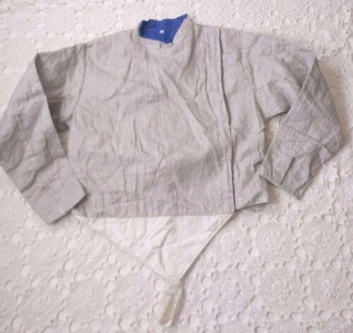 Santelli Men Large Fencing Jacket Electric Saber Lame Long Sleeve Adjustable