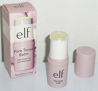 ELF Pore Toner Balm w/Green Tea+Witch Hazel - 0.53 oz Full Size /BRAND NEW - Witch Hazel Salve