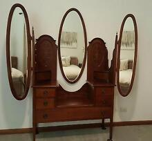 Winged mirror dressing table circa late 1800 Ringwood East Maroondah Area Preview