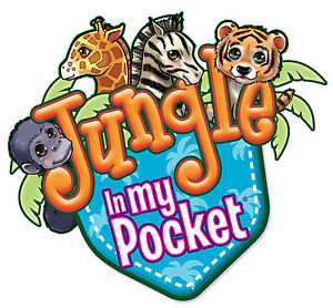 JUNGLE IN MY POCKET - 10 Different Animals all in Original Sealed Sachets