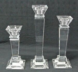 BRAND-NEW-CRYSTAL-PILLAR-CANDLE-HOLDER-3-SIZE-AVAILABLE