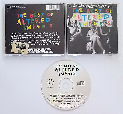 ALTERED IMAGES The Best Of CD 1992 UK Pressing A + B Sides 17 Tracks