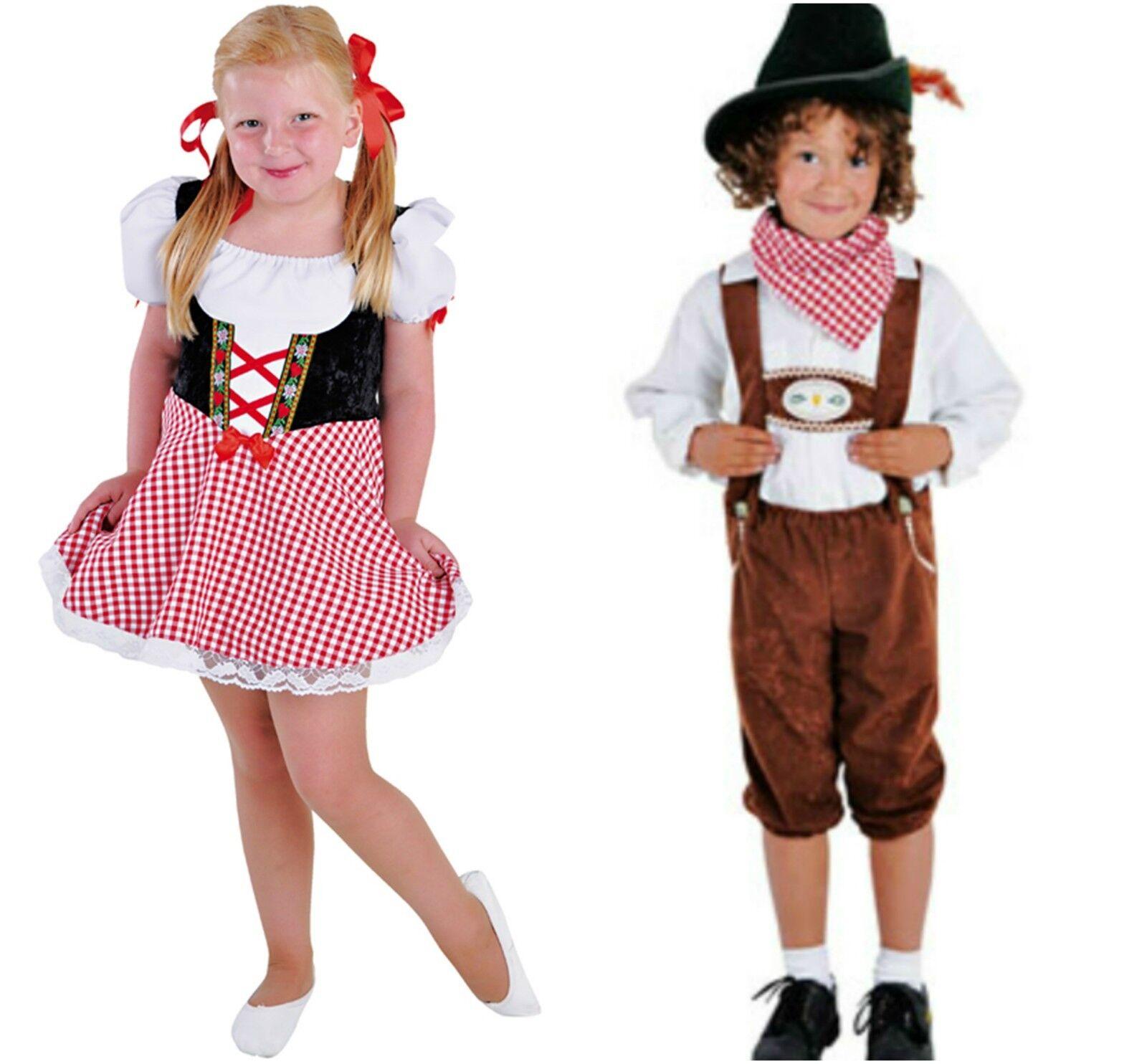 Description Summary. Kids - Hansel u0026 Gretel  Austrian / Oktoberfest Costumes ...  sc 1 st  eBay & Kids - Hansel u0026 Gretel  Austrian / Oktoberfest Costumes - ages 4 ...
