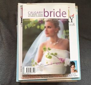 Bridal magazines from 2006-2008