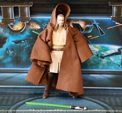 STAR WARS FIGURE 2010 VINTAGE COLLECTION VC75 QUI-GON JINN