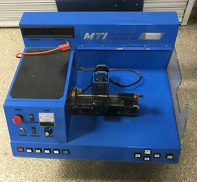 Mti Machine Ware Technology Model Sm5110 Cnc Trainer Upgraded In 2005 To Vc-mti