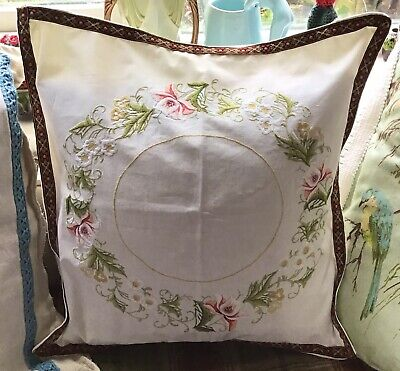 Embroidery Embroidered Cushion