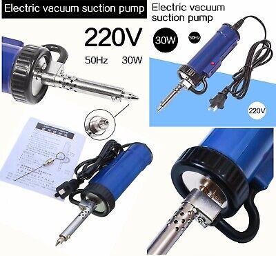 Solder Sucker 30w 220v 50hz Electric Vacuum Sucker Desoldering Pump Iron Gun