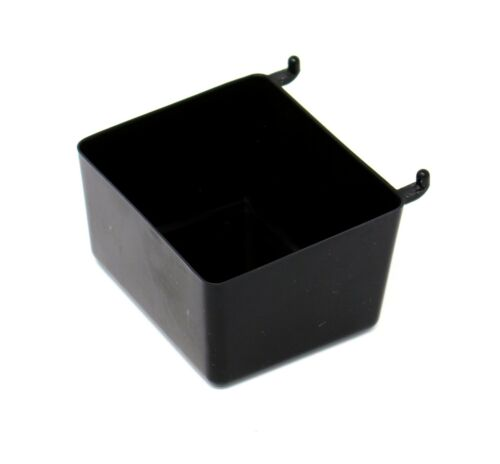 Small Plastic Black Pegboard Storage/Part Bins, Multi-Pack Pricing JSP Brand