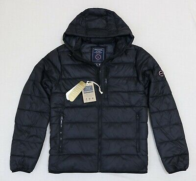 Abercrombie & Fitch Men Winter Hood Puffer jacket size Large new with tag