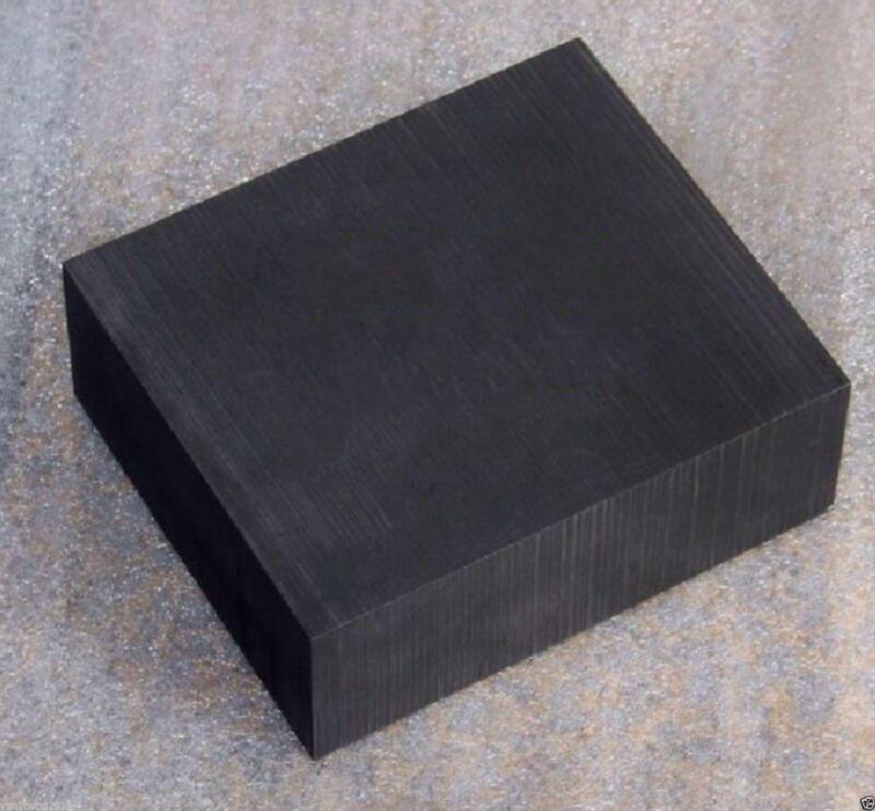 "US Stock High Purity 99.9% Graphite Ingot Block 100x100x50mm 4""x4""x2"""