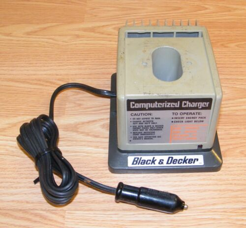 Genuine Black & Decker (98065) Computerized 60 Minute Battery Charger ONLY -READ