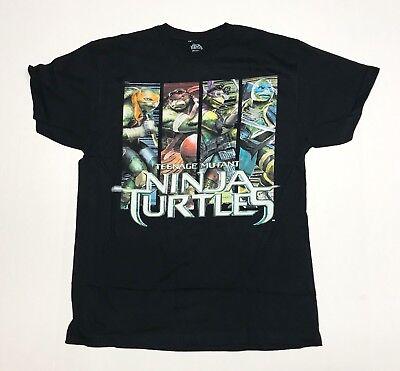 Teenage Mutant Ninja Turtles - TMNT - Men's 2X-Large Black T-Shirt  - Tmnt Shirt