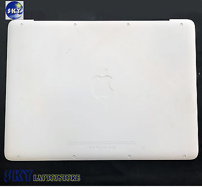 "New Apple Macbook 13.3"" A1342 Lower Bottom Case Cover White 2009-2010 604-1033"