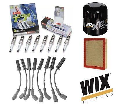 DENSO WIX Tune Up Kit for 00-06 Chevrolet Silverado GMC Sierra 4.8L 5.3L 6.0L