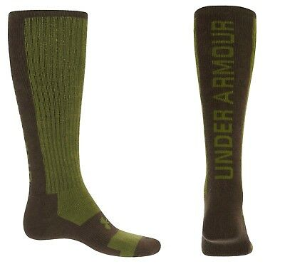 - Under Armour Men's Infrared Wing Shooting Socks M L XL Over Calf Wool Coldgear