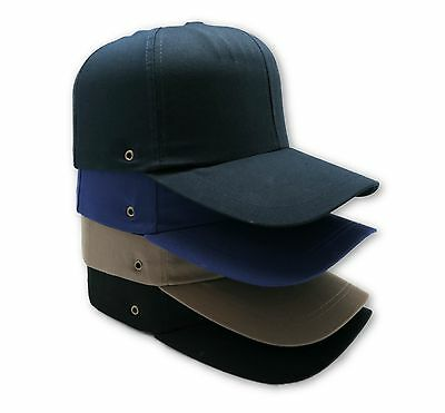 Bump Cap With Insert Vented Safety Hard Hat Head Protection Baseball Large