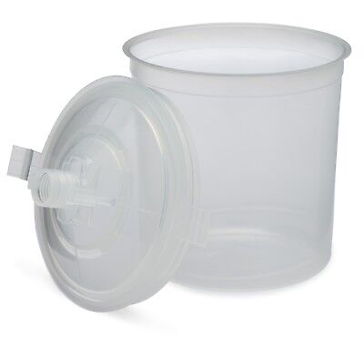 Full Box (Compare to 3M PPS 16000 & 16300) 50 Lids and Liners/1 Hard cup (20oz)