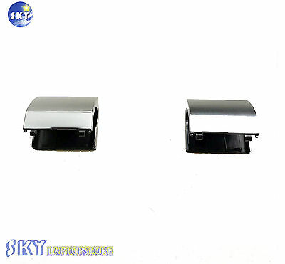 New For Dell Inspiron 15R-5521 15R-5537 Set of Left&Right Hinge Covers in Silver Dell Left Hinge