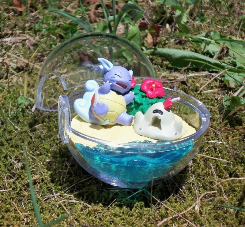 Wartortle & Sandygast - 3, Pokemon Terrarium Collection Four Seasons, , New x1