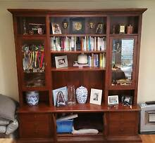 Classic Solid Timber Bookcase, TV unit, storage trunk and 6 draws Avalon Pittwater Area Preview