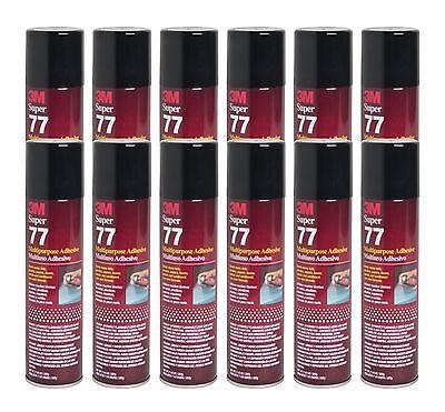 Q12 3m Super 77 Spray Glue Adhesive For Cardboard Insullation Craft Paper Fabric