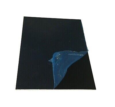 2pc 18ga .040 5005 Satin Black Anodized Aluminum Sheet Plate 4x6