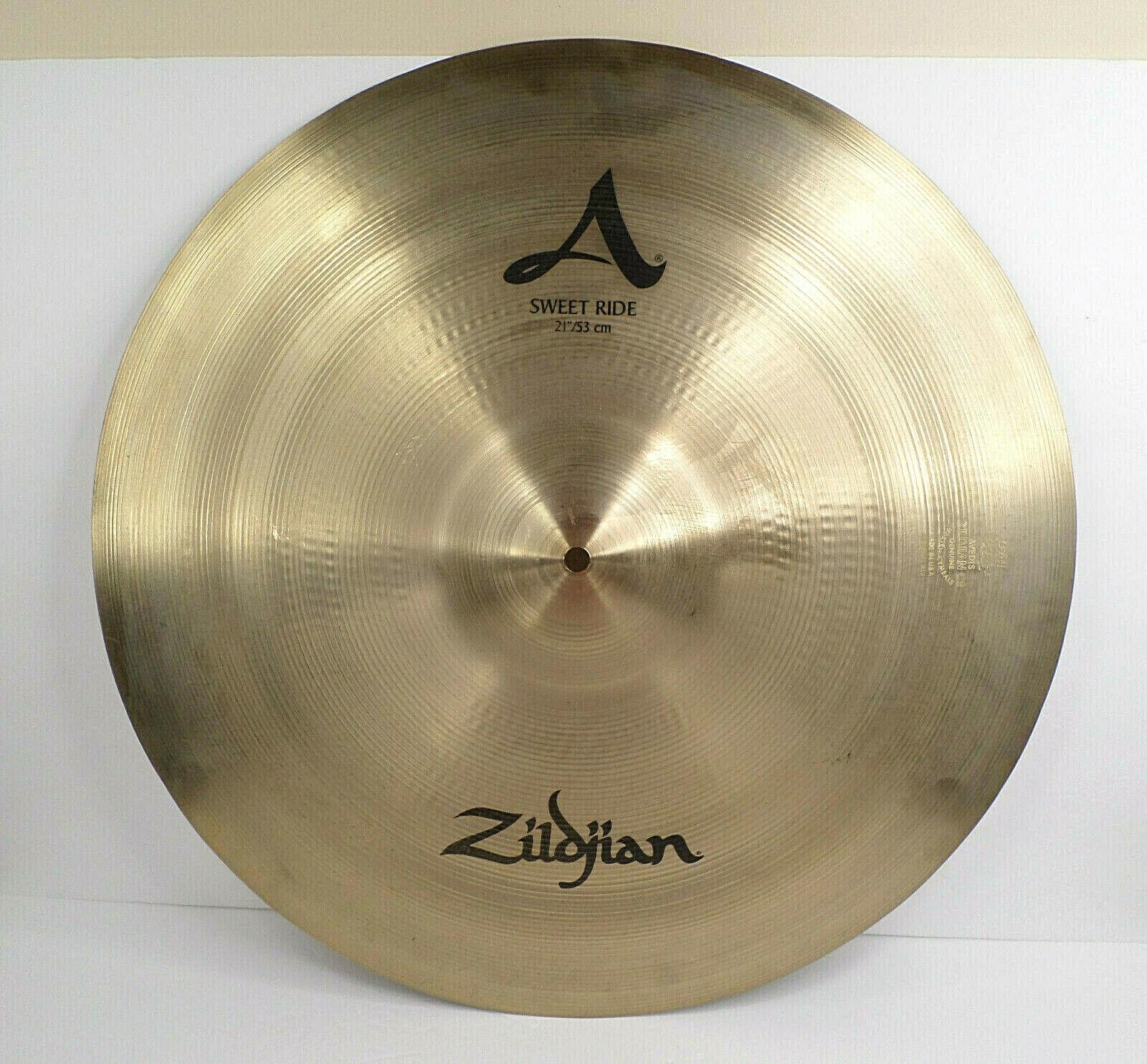 Zildjian 21 53cm Sweet Ride Cymbal - USED - Great Sound Zildjian A - $229.00