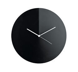 Alessi - ACO05 B Arris Wall clock Black Diameter 30cm
