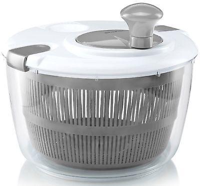 Gourmia GSA9240 Jumbo Salad Spinner – Manual Lettuce Dryer
