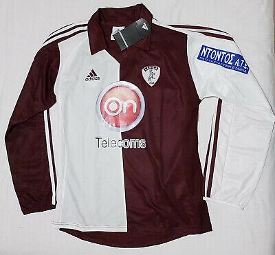 AEL Larissa FC 2008 2009 home football shirt soccer jersey, Adidas, Size M, BNWT image