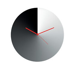 Alessi - ACO05 Arris Wall clock  in 18/10 stainless steel. Diameter 30cm