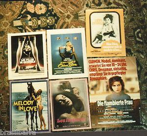 La liste des films érotiques