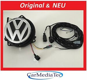 original vw cam ra de recul kit golf 7 vii 5g0827469e rear view camera ebay. Black Bedroom Furniture Sets. Home Design Ideas