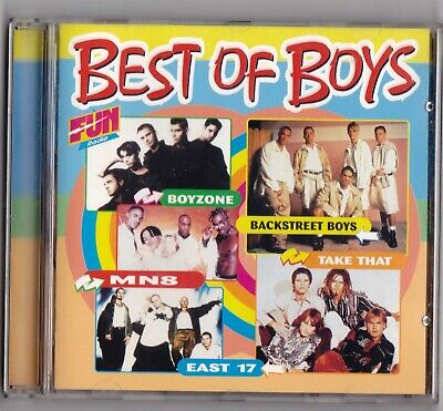ALBUM BEST OF BOYS_BOYZONE_BACKSTREET BOYS_MN8_TAKE THAT_EAST 17_CD 16 TITRES comprar usado  Enviando para Brazil