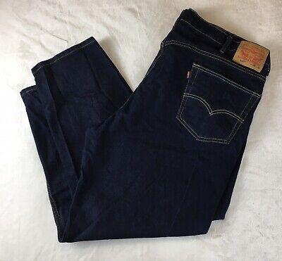 Mens Levis 550 Jeans Dark Wash Size 48x30