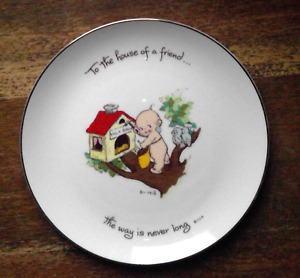 KEWPIE COLLECTOR'S EDITION PLATE - 1973