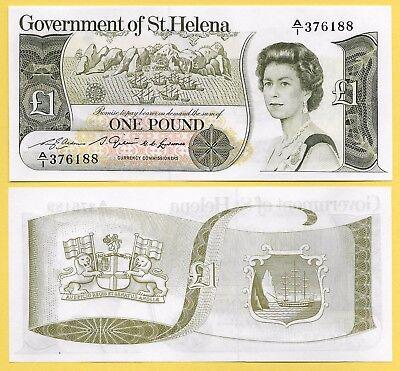 St Helena 1 Pound p-9a 1981 UNC Banknote