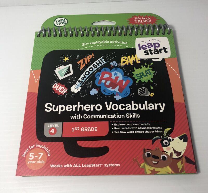 Leap Frog Leap Start Superhero Vocabulary with Communication Skills Level 4 1st