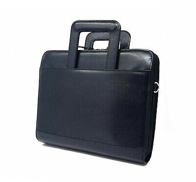 1.5 Inches 3-ring Binder Folder Portfolio Organizer Planner W Briefcase Handle