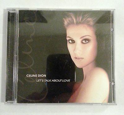 Lets Talk About Love By Celine Dion  Cd  Nov 1997  550 Music