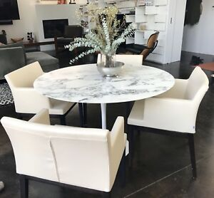 Contemporary Leather Dining Chairs 140 Each