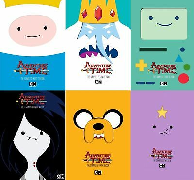 Adventure Time: The Complete Series Season 1-6 (DVD, 15-Disc Set)New 1 2 3 4 5 6
