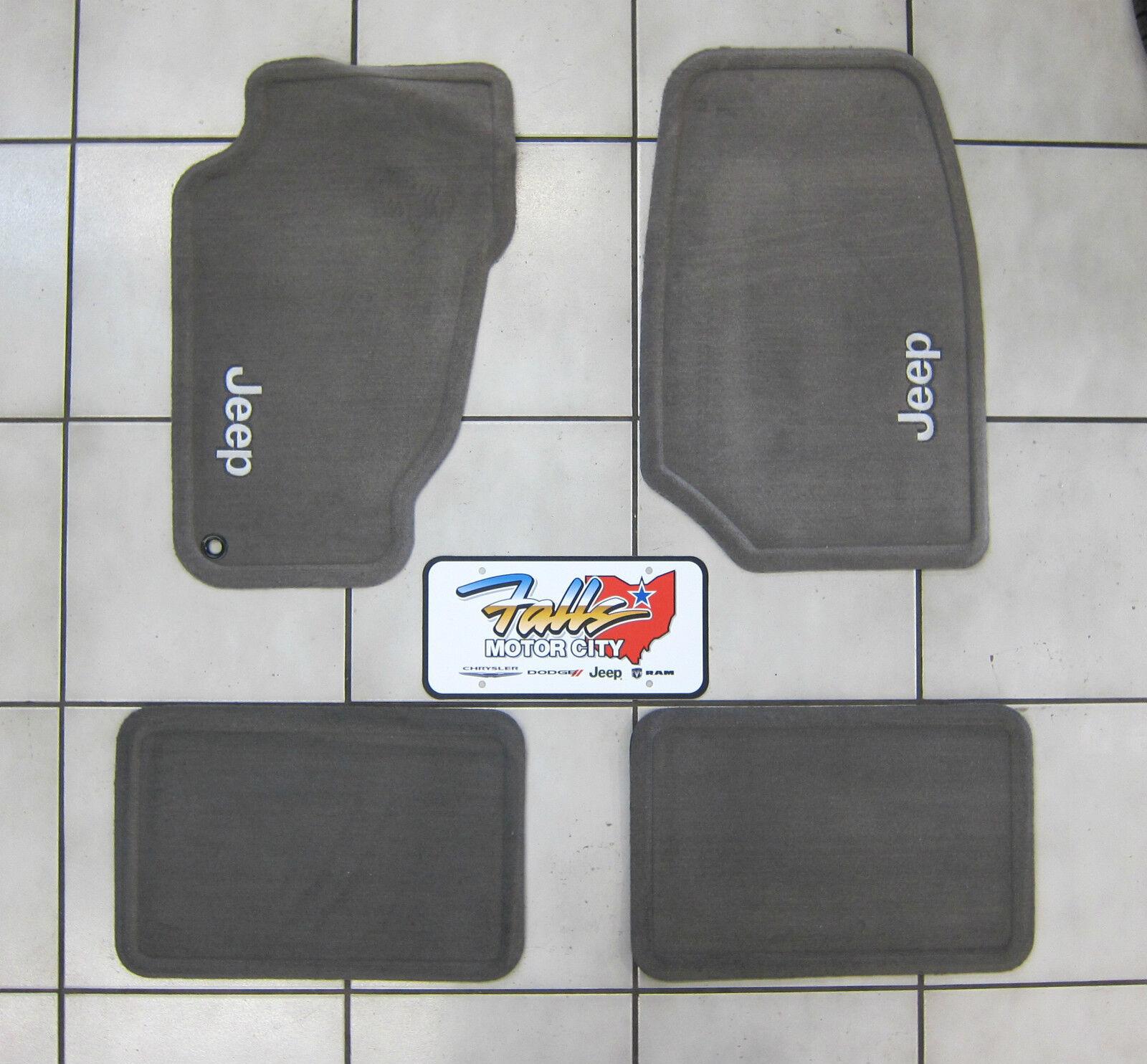Dodge Intrepid Floor Mats: 2004 Jeep Grand Cherokee Taupe Carpet Floor Mats
